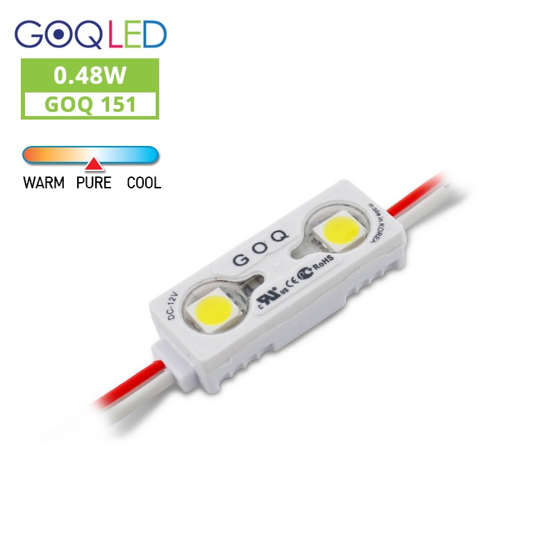 GOQ 02WD-LM 0.48W 12V 6500K (50 modules / unit)