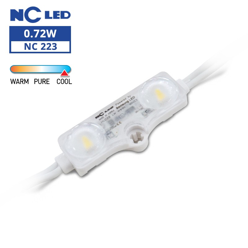 NC HLC2S LW 0.72W 12V W95K Wide beam angle (100 modules / unit)