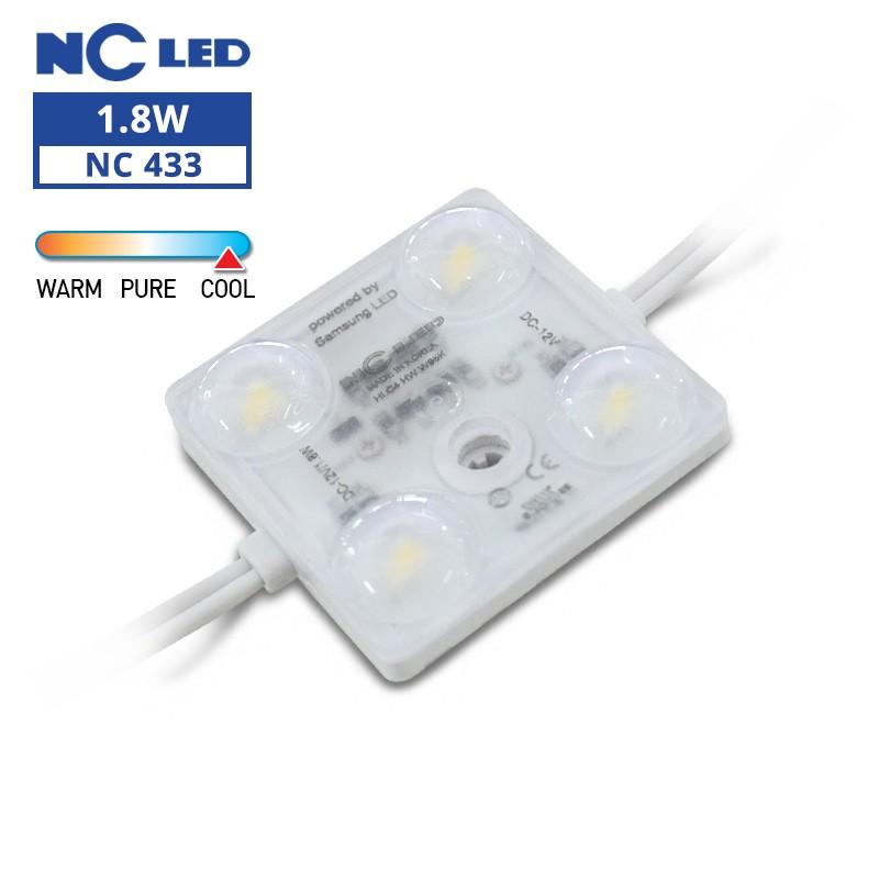 NC HLC4 HW 1.8W 12V W95K Wide beam angle (50 modules / unit)