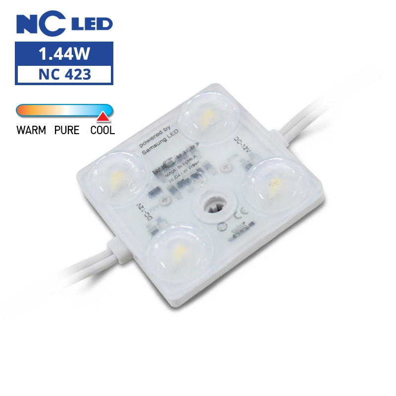 NC HLC4 LW 1.44W 12V W95K Wide beam angle (50 modules / unit)