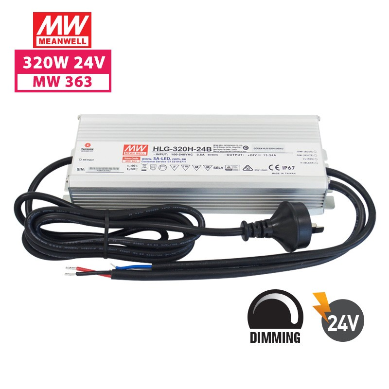 SA HLG 320H 13.3A 24V with 3 pin plug(Dimming)
