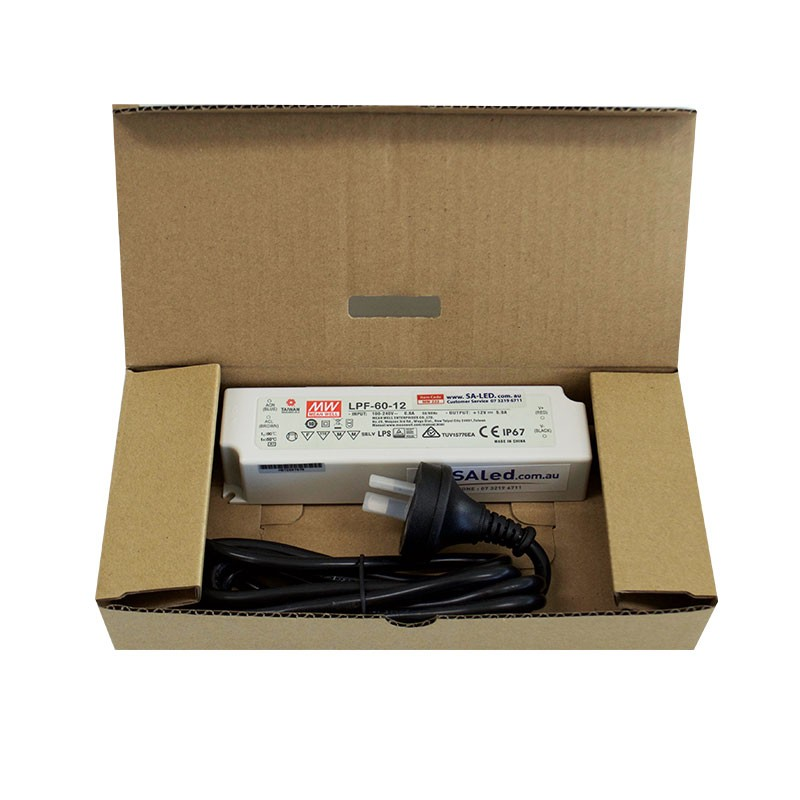 SA LPF 60 5A 12V with 3 pin plug