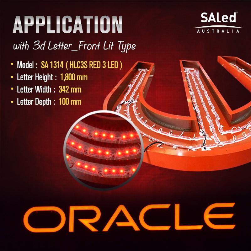 SA HLC3S RED 3 LED Modules ($1.20/ea, 50 modules / unit)