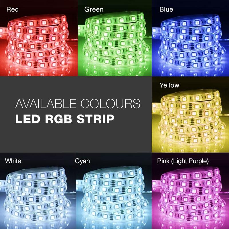 SA FlexA N 60 RGB (14.4W/M, 5 Metre/roll)