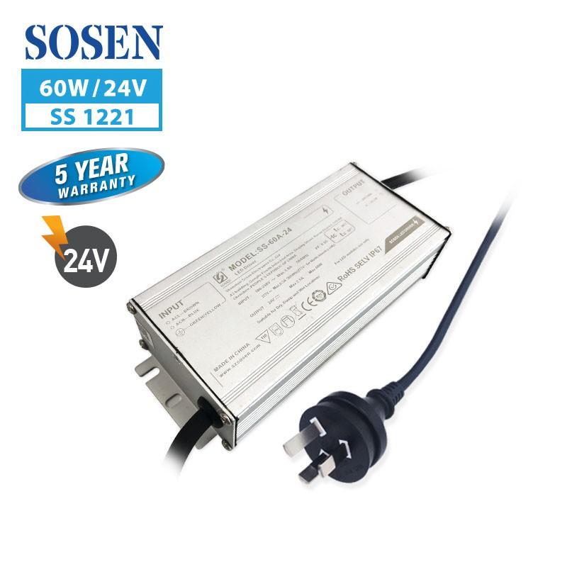 SA SS 60W 2.5A 24V with 3 pin plug